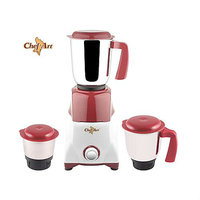 Chef Art CMG555 550 Watt  Mixer Grinder With 3 Stainless Steel Jar