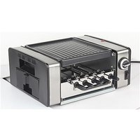 Chef Pro CRG091 900Watts Indoor Rotisserie Kabab Grill With 5 Teel Skewers