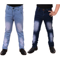 Guchu Boys Jeans Combo (Pack of 2)