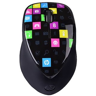 HP H4R81AA Bluetooth Wireless 3 Button Touch to Pair Laser Mouse with 1600 cpi