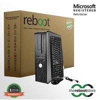 Refurbished Dell Core 2 Duo Desktop (2GB - 250GB - DOS ) (1 Year Seller Warranty)