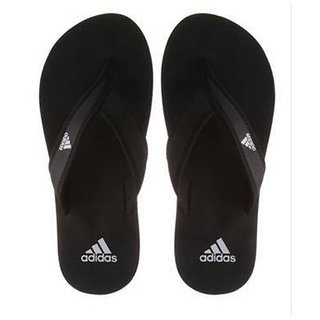 Adidas Mens Black Flip Flops