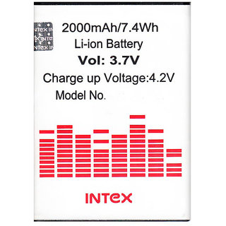 Intex Cloud X2 BR1265AX Mobile Battery available at ShopClues for Rs.395