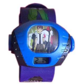 Ben 10 Projection Purple kids watch