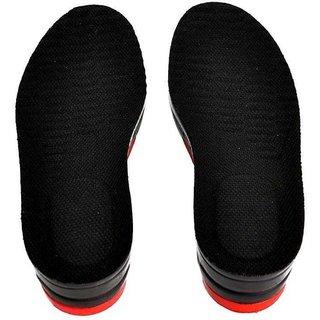 Sangaitap Instant 6cm height increasing adjustable Leatherette Heel Regular Shoe Insole (black)