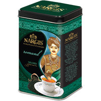 Nargis Premium Quality Indian Black Leaf Tea From Nilgiris In Metal Tin 200gms