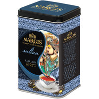 Nargis Premium Quality Indian Black Leaf Tea With Earl Grey In Metal Tin 200gms
