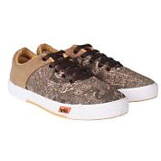 Unistar Gents Canvas Shoes; 5006-Brown