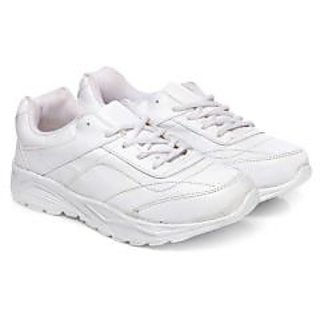 Unistar Walking Shoes; ST-01-White