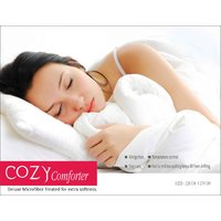 Cozy Comforter Filled With Deluxe Microfiber - Double Bed