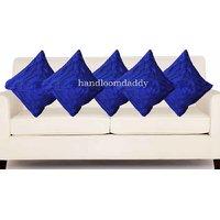 Sweet Home Royal Blue Cushion Cover(5 Pcs Set)05
