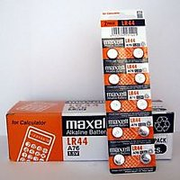 Maxell Button Alkaline Batteries Lr44 BUY 3 GET 1 FREE (3+1)