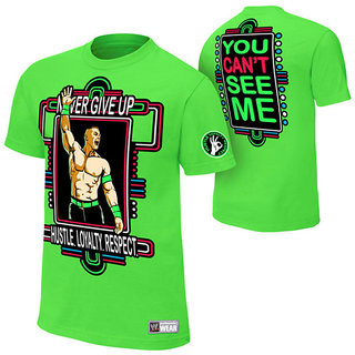 John Cena Neon Green Youth T-shirt