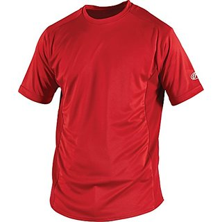 Rawlings  Youth Crew Neck Jersey, X-Large, Scarlet