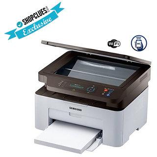 Samsung SL-M2071W Multi-Function Laser Printer With  NFC  WIFI