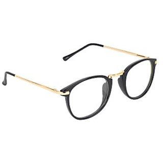 Zyaden Black Round Eyewear Frame 208