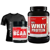 Muscle Performance Stack Whey Protein Cafe Mocha 1Kg+BCAA Free T-Shirt