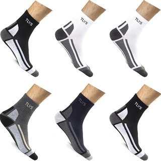 B.B. Ankle Socks Set Of 6 Pairs