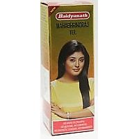 Baidyanath Mahabhringraj Tel No White Oil (Paraffin) No Silicone No Chemical No Synthetic Colours No Frgrance 50 Ml