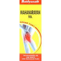 Baidyanath Mahanarayan Tel Kesar Yukt The Renovwned Oil For Joints And Muscular Pains