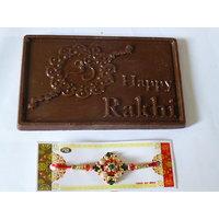 Happy Rakhi Chocolate With Rakhi Best Raksha Bandhan Gift