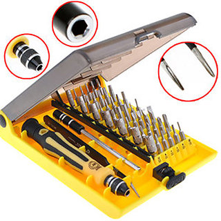 45 in 1 precision screwdriver set screwdriver repair tool kit for cell phone at best prices. Black Bedroom Furniture Sets. Home Design Ideas
