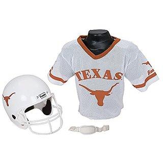 Franklin Sports NCAA Texas Longhorns Football Helmet and Jersey Set