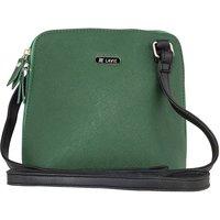 Lavie  Green Solid/Plain Slingbag