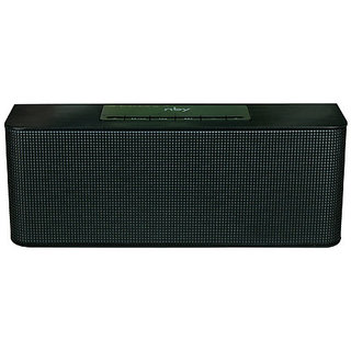 Mectronix NBY-02 Portable Soundbox With Thump Bass (Supports Bluetooth Aux Memory Card) Portable Bluetooth Mobile/Tablet Speaker (Black 2.1 Channel)