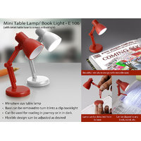 Mini Table Lamp/ Book Light