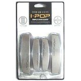 I-pop Car Door Scratch Guard Silver Colour Pack Of 4 Ipop