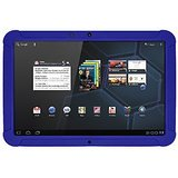 Amzer Silicone Skin Jelly Case - Blue for Motorola XOOM