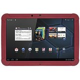 Amzer Silicone Skin Jelly Case - Maroon Red for Motorola XOOM