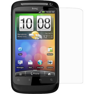 Amzer Anti-Glare Screen Protector with Cleaning Cloth for HTC Desire S