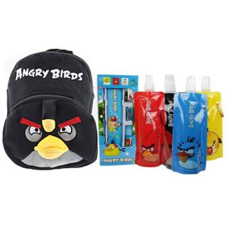 Angry Bird School Kit Bag Stationaries Water Bottles