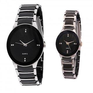 IIK Collection Casual Watch For Mens combo of 2 by sports