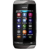Nokia Asha 305 (Dark Grey) + Free MicroSD 2 GB Card In Box
