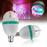 LED Full Colour 360*Rotating LED Spot Light For Home Party,Dance (Set Of 2)