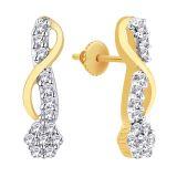 Asmi Diamond Jewellery Earring (ADE01233)