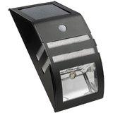 Solar Wall Light With Motion Sensor - Black