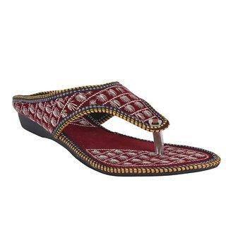 DFR Women Red Slippers