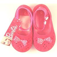 Barbie - Pink Bow Ballerinas(Size-24)16.6Cms!