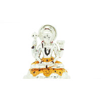 Silver Plated Lord Shiva Idol