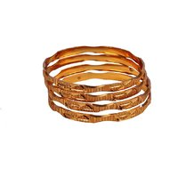 Dwellkart Golden Bangle JBA0248