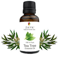 Zayn's Tea Tree Essential Oil - 100 Pure  undiluted - Natural way for Skin, Hair and Acne care - 10 ML
