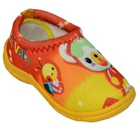 ATN YELLOW COLOR CANVAS MOCASSION FOR KIDS ( MINI)