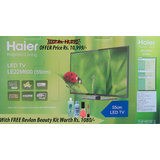 """Haier 22"""" Full HD LED TV with Free Revlon kit for womans worth Rs 1080"""
