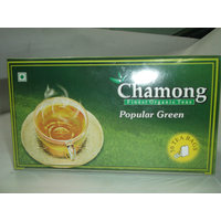Green Tea Bags - Chamong Popular Green Tea Pack Of 1 (50x1=50 Tea Bags)