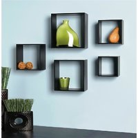 New Look Multi-purpose Cube Shelves Set Of Five (5)