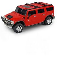 Remote Controlled rechargeable  1 24 Hummer Model car  (Red / Yellow )